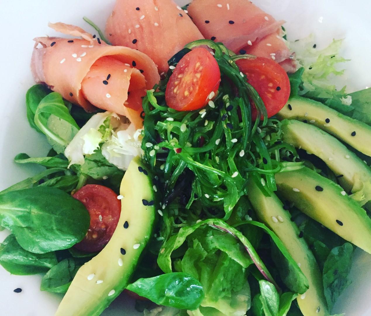 """Salat """"Japón"""" €7,50"""